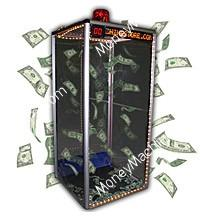 Advertise Your Money Blowing Machine To Draw More Visitors To Your Tradeshow Booth